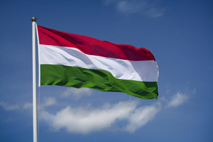 Венгерский флаг
