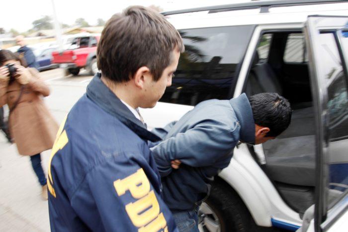 Задержание нелегального иммигранта полицией