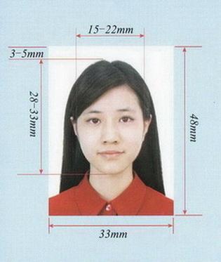 Фото на китайский паспорт