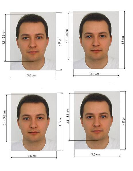 фотография на рабочую визу