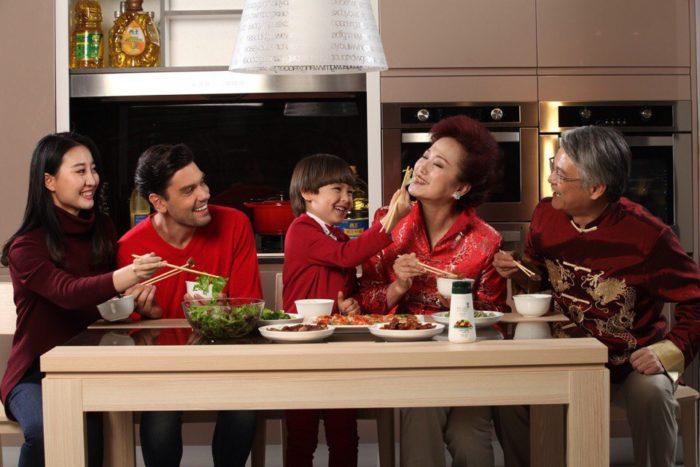 Европеец в китайской семье