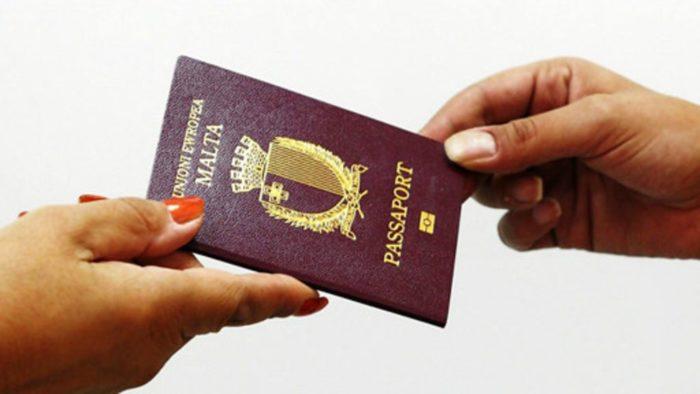 Паспорт Мальты