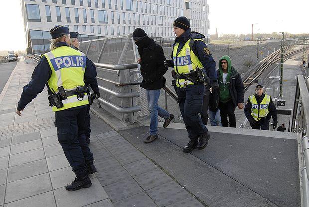 Правонарушение в Швеции