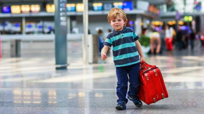 Ребёнок едет за границу