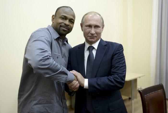 Президент В. Путин и Р. Джонсон