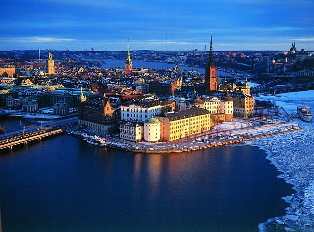 Столица Швеции — Стокгольм