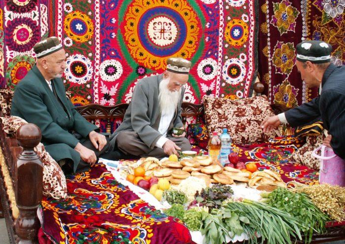 Узбекское застолье
