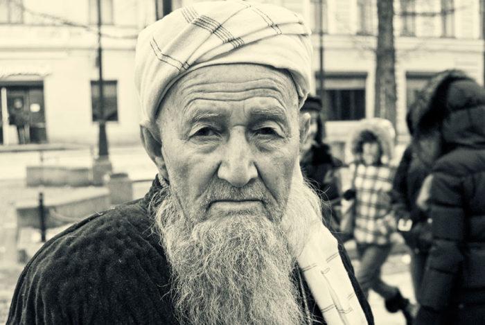 Узбекский пенсионер