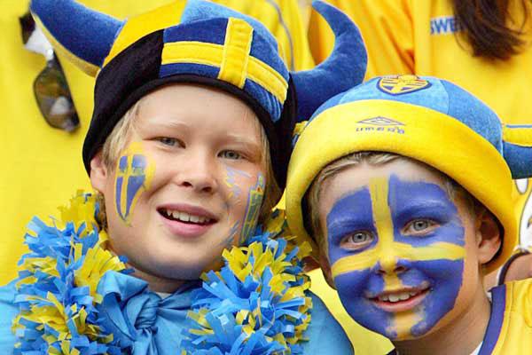 Шведские дети