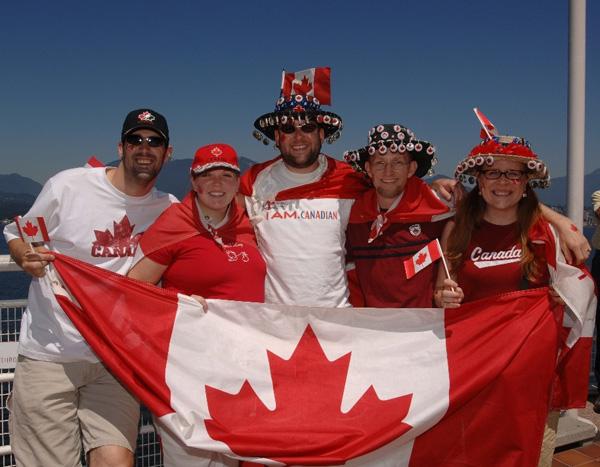 семья в Канаде