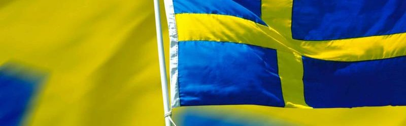 Швеции флаг
