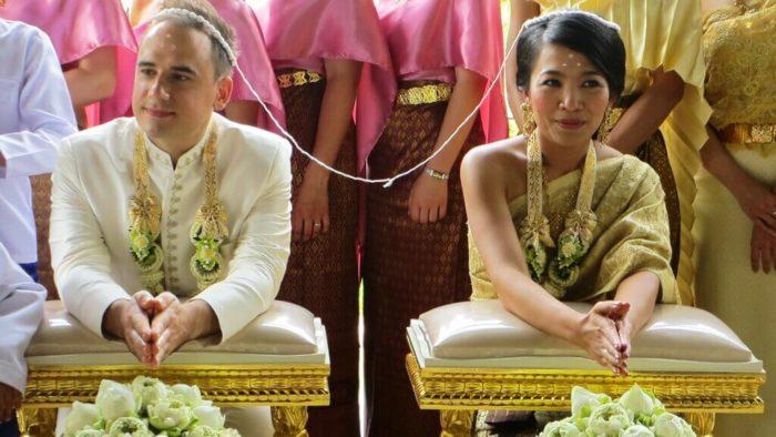 Тайская свадьба