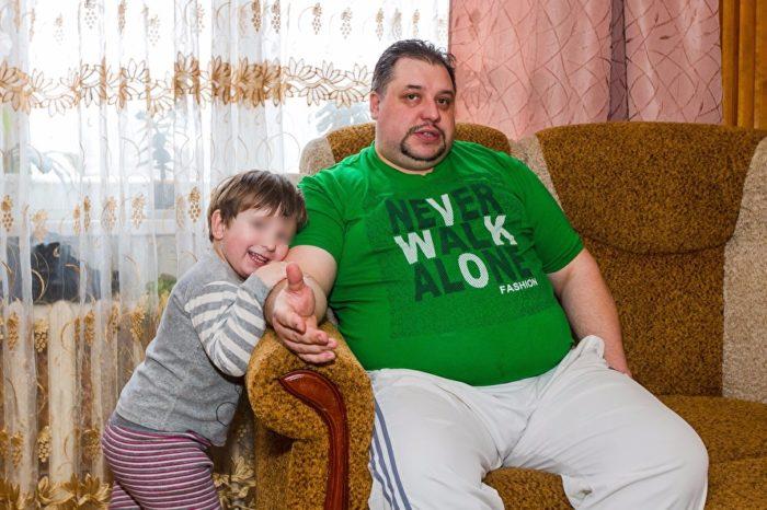 Александр Абрашкин с младшим сыном