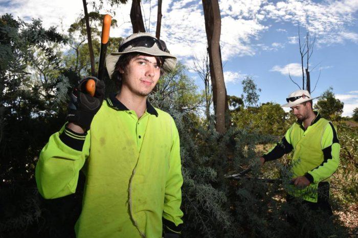 Волонтёры программы Conservation Volunteers в австралийском буше