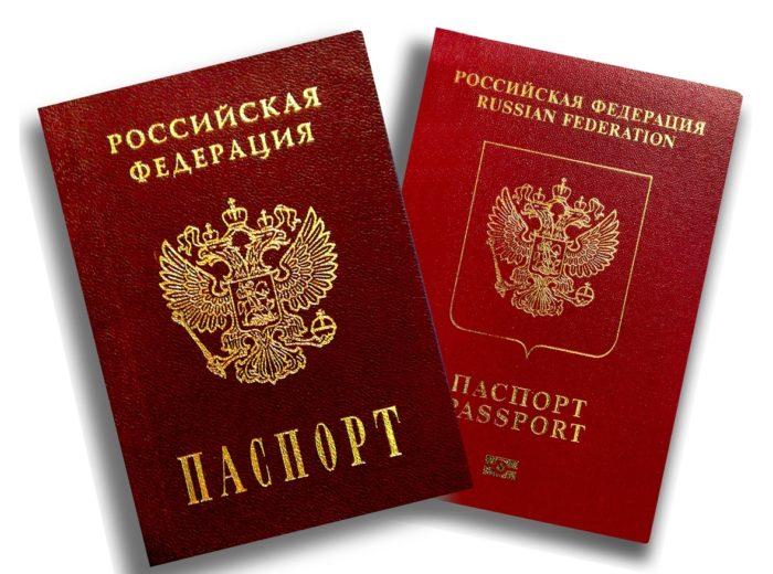 Общегражданский и заграничный паспорт РФ
