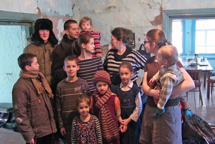 Семья Мартенс из Германии в российской деревне