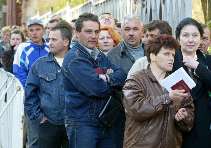 Украинские переселенцы