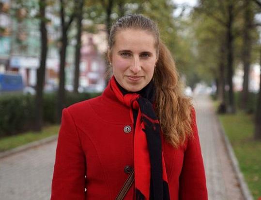 Учительница Дарья из Луганска