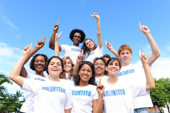 Международная команда волонтёров
