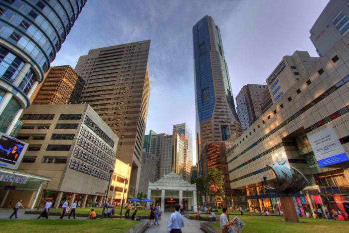 Бизнес-центр в Сингапуре