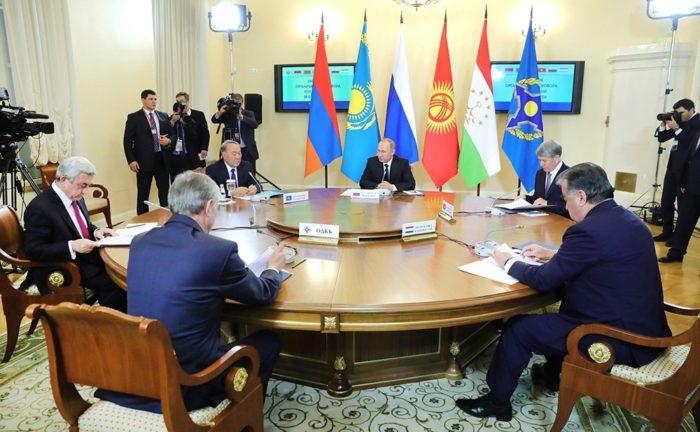 Лидеры государств Таможенного союза