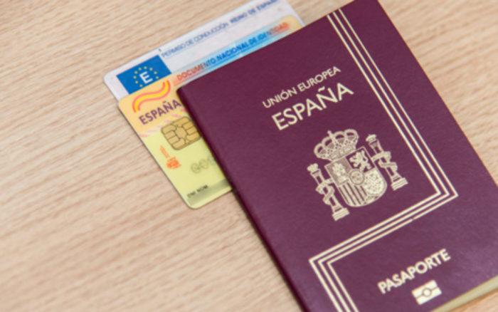 Паспорт Испании и карточки ВНЖ