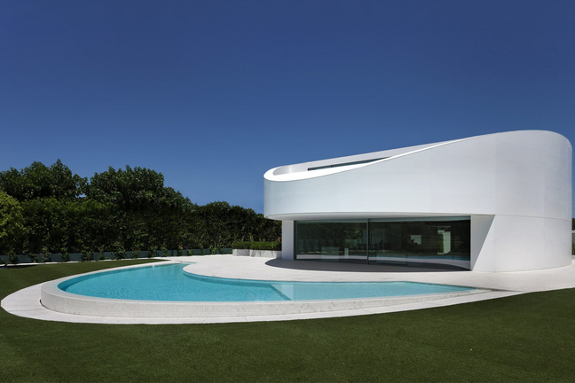 Дом в стиле футуризм