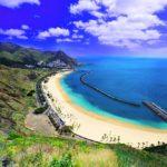 Тенерифе, вид на пляж