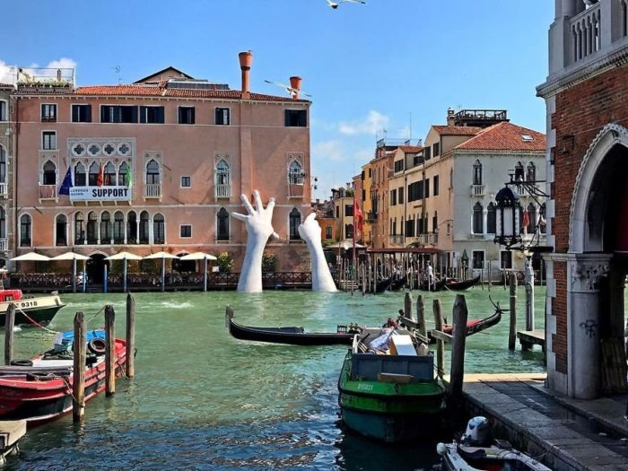 Венеция, вид на канал