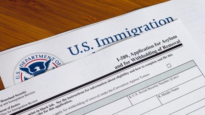 Документы на политическое убежище в США