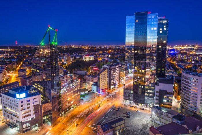 Деловой квартал Таллина