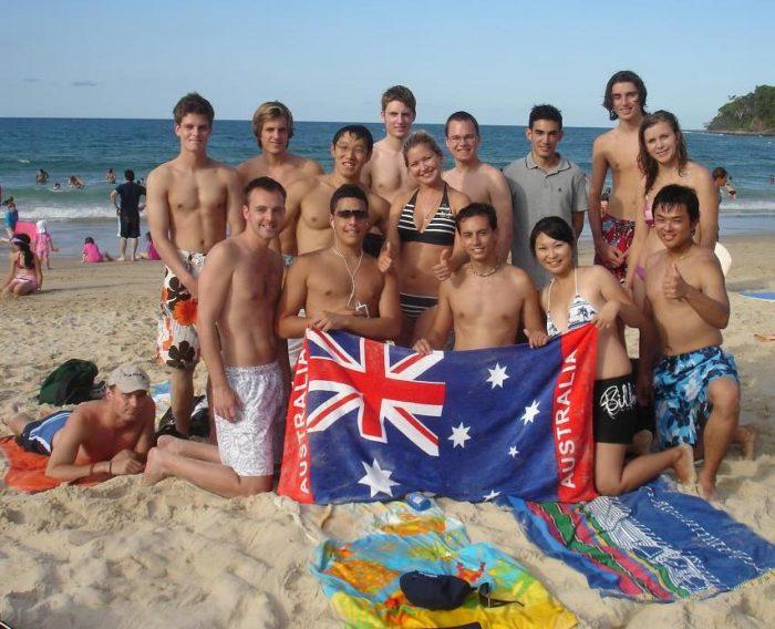 Иностранные стажёры в Австралии