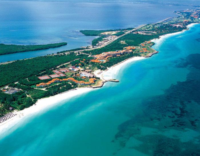 побережье острова Куба