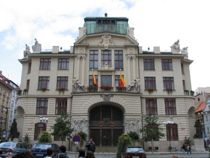 Муниципалитет в Праге