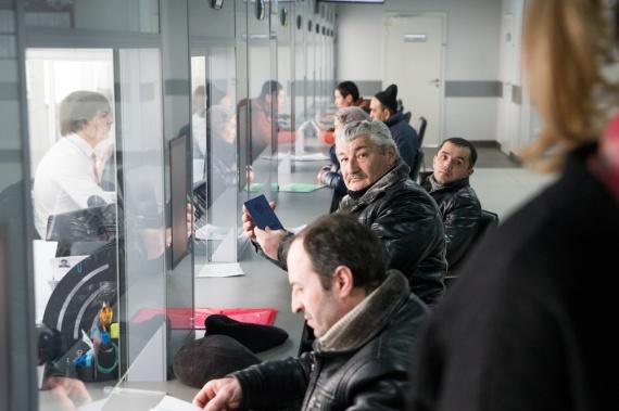 Обслуживание иностранных граждан в отделении ГУ МВД по миграционным вопросам