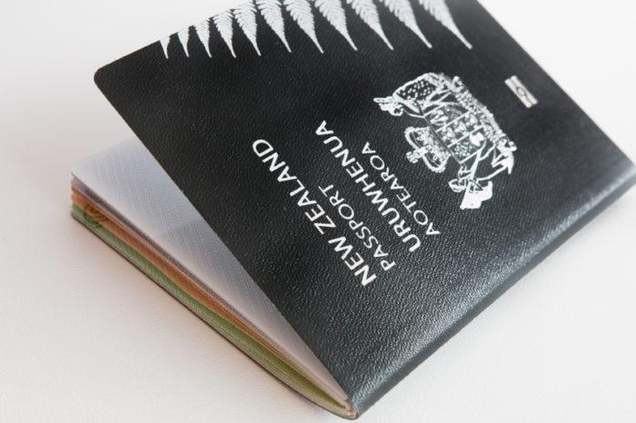 паспорт гражданина Новой Зеландии