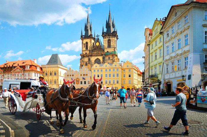 Вид Праги