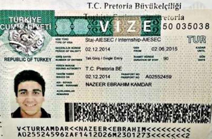Рабочая виза в Турцию
