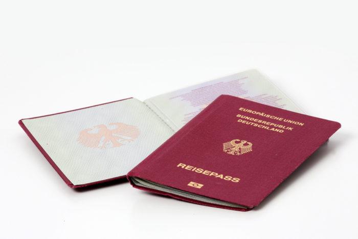 Паспорт ФРГ
