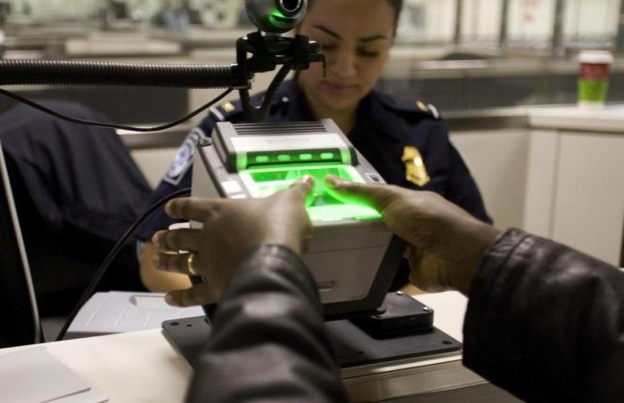 Сдача биометрических данных