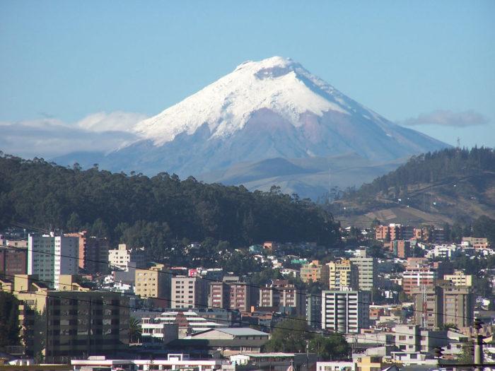 столица Эквадора — Кито