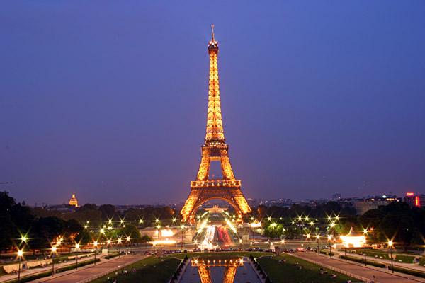 Столица Франции — Париж