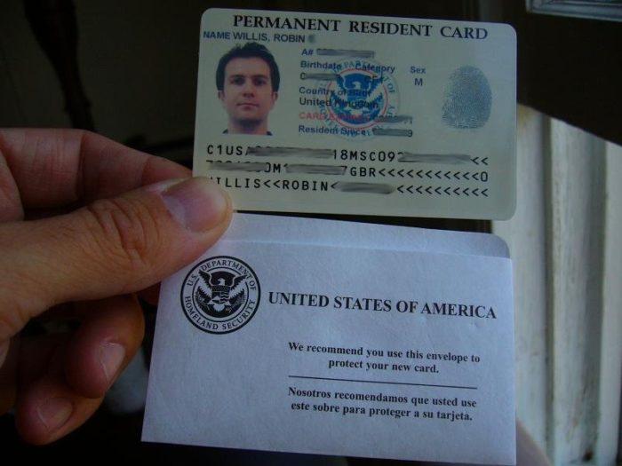 Защита Green Card