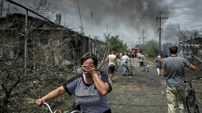 вооружённый конфликт на Донбассе