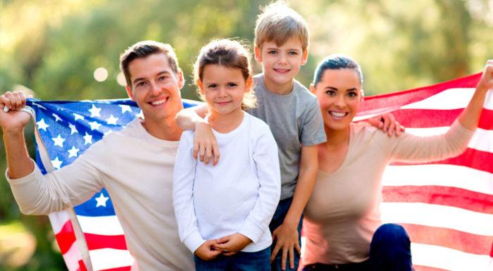 Воссоединение с семьёй в США