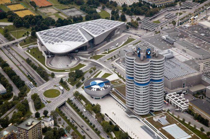 Завод BMW в Германии