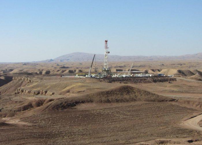 Нефтедобывающая станция на Ближнем Востоке