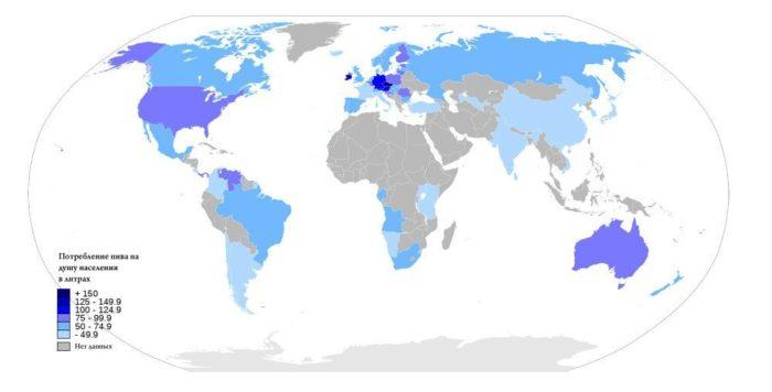 пивной рейтинг мира в 2018 году