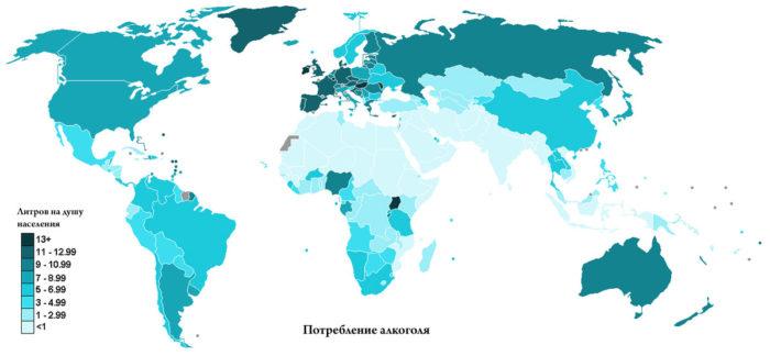 пьющие страны