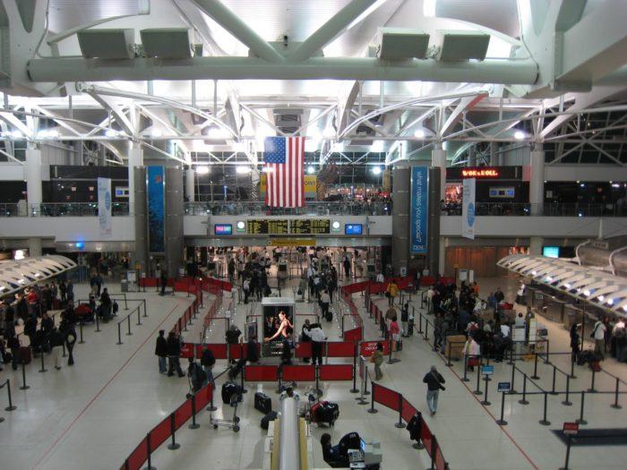 Аэропорт им. Дж. Кеннеди в США